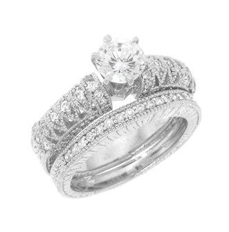 Wedding Engagement Ring Sets