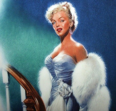 MARILYN MONROE 1992 BRADFORD 9th ISSUE PLATE - ALL ABOUT EVE