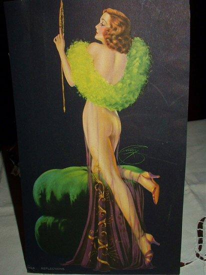 Seductress Nude Goddess-DEVORSS-REFLECTIONS-Lithograph print