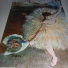 EDGAR DEGAS-LARGER LITHOGRAPH-DANCER WITH BOUQUET