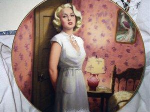 1989-LANA TURNER-POSTMAN ALWAYS RINGS TWICE-#2 BRADFORD COLLECTOR PLATE