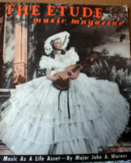 Oct.1941-THE ETUDE Magazine-MARY MARTIN-Southern Belle