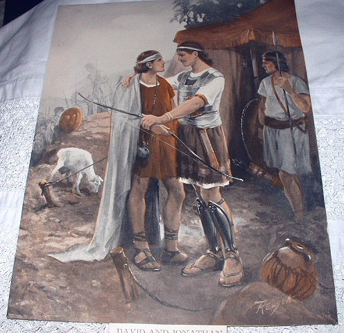 RELYEA-DAVID AND JONATHAN VINTAGE PRINT
