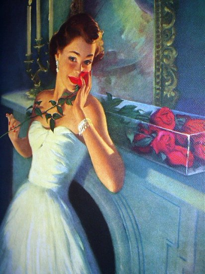Gorgeous Lady-LOVE SENDS A GIFT-HUFFORD-Beautiful Rose