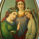 **REDUCED**1879-Three Girls-Faith,Friendship and Innocence STINSON