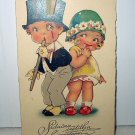 Unused DOLLY SERIES -1920s Sweet Boy and Girl Dressed Up