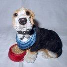 Sweet Beagle Dog Figurine
