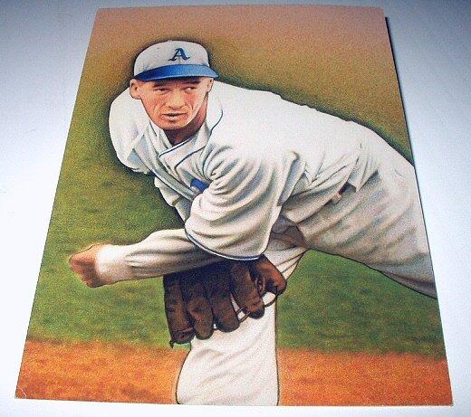 LEFTY GROVE Stamp-Philadelphia Athletic-Commemorative Unused Prepaid Postcard