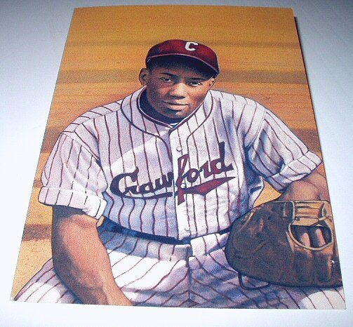 JOSH GIBSON Stamp-Professional Baseball Negro League-Commemorative Unused Prepaid Postcard