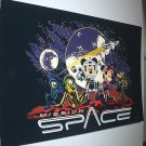Mission Space-Super Large Walt Disney World Postcard at Epcot