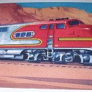 Commemorative Unused Prepaid Postal Card-The Super Chief E-1 Locomotive Stamp