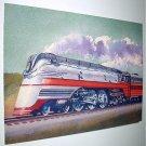 Commemorative Unused Prepaid Postal Card-Hiawatha F-7 Steam Locomotive Stamp