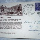 RAILROAD CANCELLATIONS-1944 RPO CHICAGO AND OMAHA