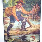 Fishermans Luck-Hy Hintermeister-Original Vintage Lithograph Print