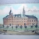 Used 1909 Postcard-St. Joseph's Hospital,Logansport,Indiana-Mailed to Indianapolis