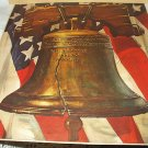 Patriotic LIBERTY BELL-PASS AND STOW-Vintage Magazine Illustration