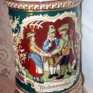 Germany Large Vintage Stein Weidmannsheil No Metal Lid - REDUCED