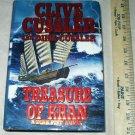Treasure Of Khan A Dirk Pitt Novel 2006 1st Edition Authors Clive and Dirk Cussler Hardback Book