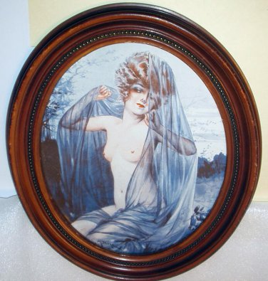 Goddess Nude Coquette Flapper Lady Milliere Artist Magazine Art Cover Picture Pin Up