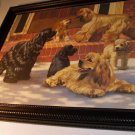 Cocker Spaniels Collection Dogs 1986 Original Limited Edition HandSigned Artist Robert Christie