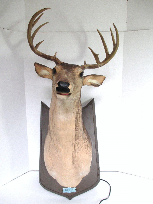 gemmy buck the singing deer trophy | just b.CAUSE