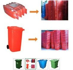 Plastic Trash Cans LDPE vacuum molding serice at low cost and good quality