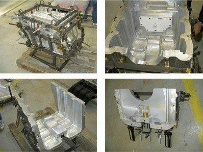 Cast aluminium moulds service
