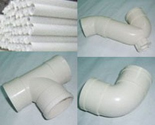 special PVC pipe extrusion forming