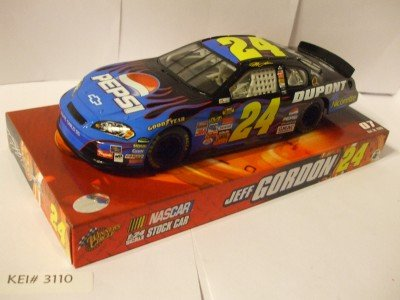 2007 JEFF GORDON 24 Pepsi DuPont Blue Flames Nicorette