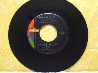 GARRY MILES Dream Girl Wishing Well 1960 LIBERTY Records 55279
