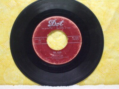 SANFORD CLARK The Fool Lonesome For A Letter DOT Records 15481