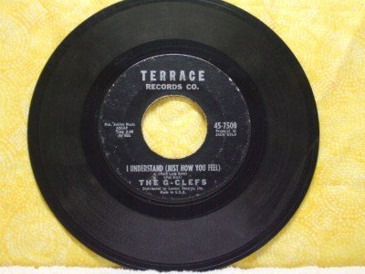 THE G-CLEFS I Understand Little Girl I Love You 1961 Terrance 7500