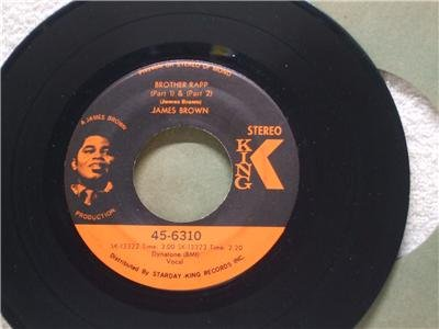 JAMES BROWN Brothers Rapp Parts 1 & 2 KING 45-6310