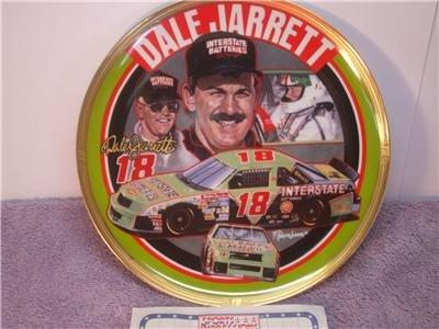1994 Dale Jarrett #18 Interstate Batteries Plate