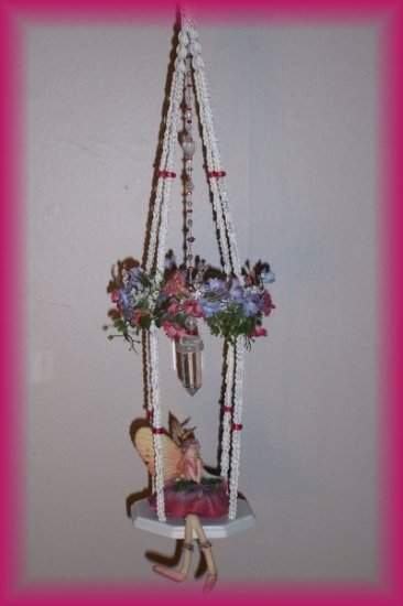 Hanging Rose Fairy Swing
