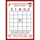 24 Personalized Baby ShowerBingo Cards in the Little Cowboy Theme!