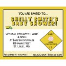 20 Baby Shower Invitations   BABY UNDER CONSTRUCTION
