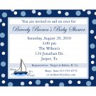 25 Personalized Baby Shower Invitations AHOY IT'S A BOY!
