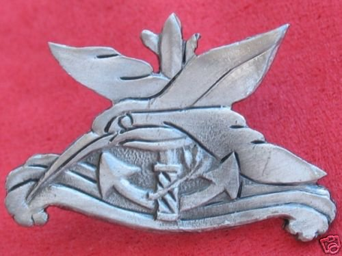 Israeli army Navy kingfisher military badge Israel IDF
