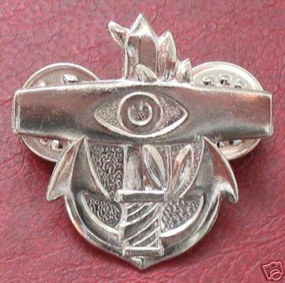 Israel Israeli army basic coastal radar operator badge