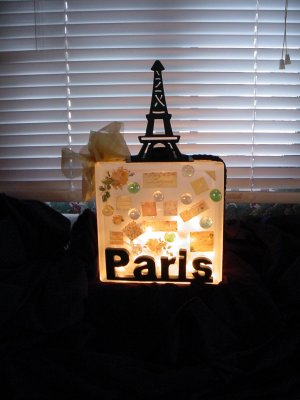 French Theme Nightlight