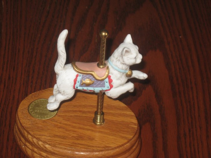 RARE Willitts Countryside Carousel Countryside Cat