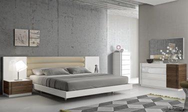 Martin Modern Style 5pc Queen Bedroom Set