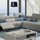 S300 Premium Leather Sectional by J&M Furniture