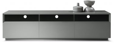 TV023 Grey High Gloss TV Stand by J&M Furniture