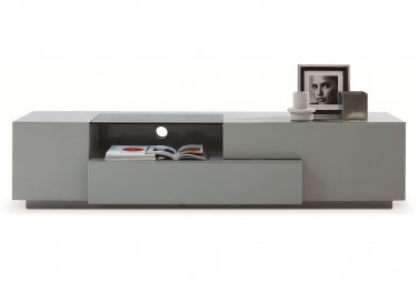 TV015 TV Stand Grey Lacquer by J&M Furniture