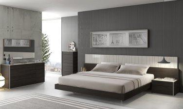 Porto Premium King Size Bedroom Set by J&M