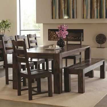 121151 Calabasas Contemporary 7 Piece Dining set