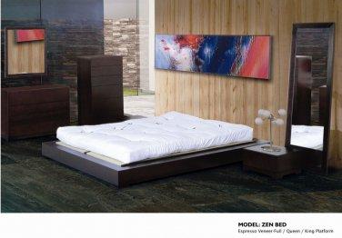 Zen Queen size Bedroom Set  by  Beverly Hills Furniture
