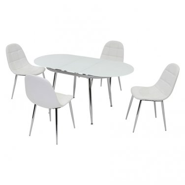 Donna 5 Piece Dining Set by Chintaly
